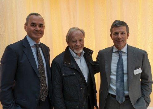 AGM 2019 - Ian Lundin, Torstein Sanness, Alex Schneiter