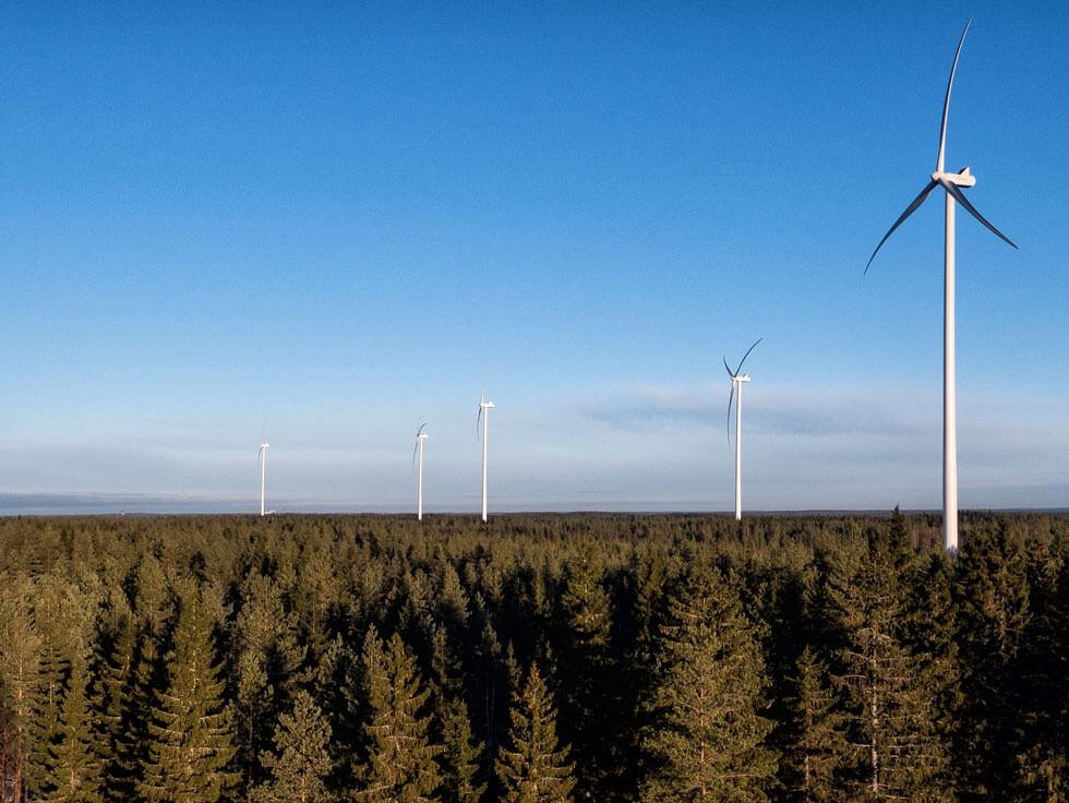 Decarbonisation Strategy - Metsälamminkangas (MLK) wind farm project