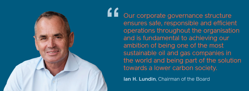Ian Lundin - corporate governance