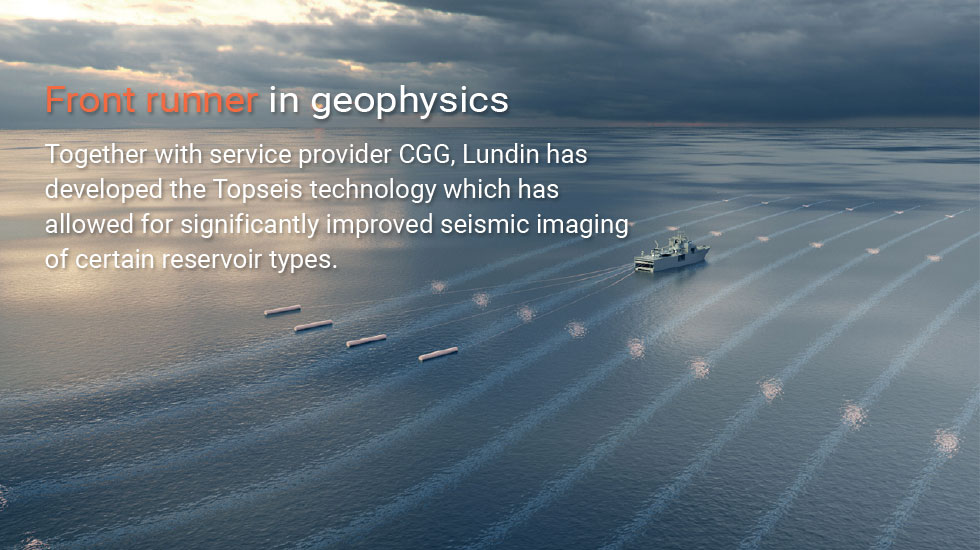 Topseis improved seismic imaging