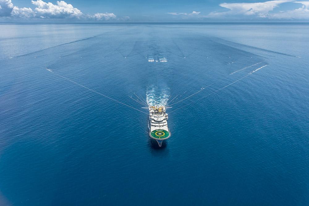 Coral Seismic Acquisition