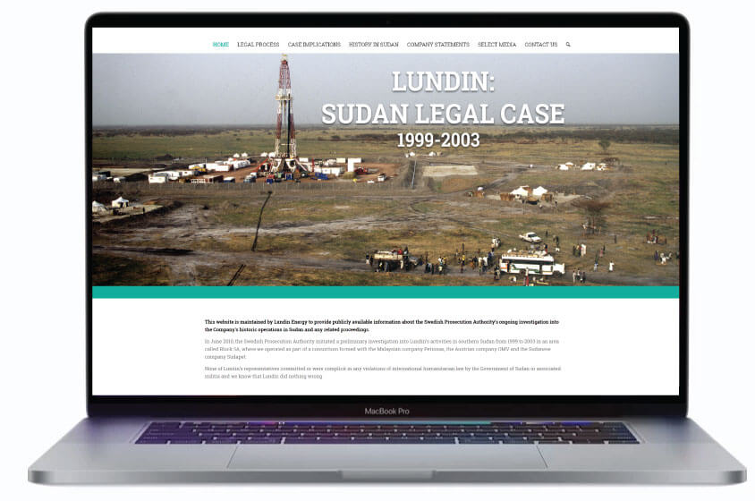 Sudan legal case