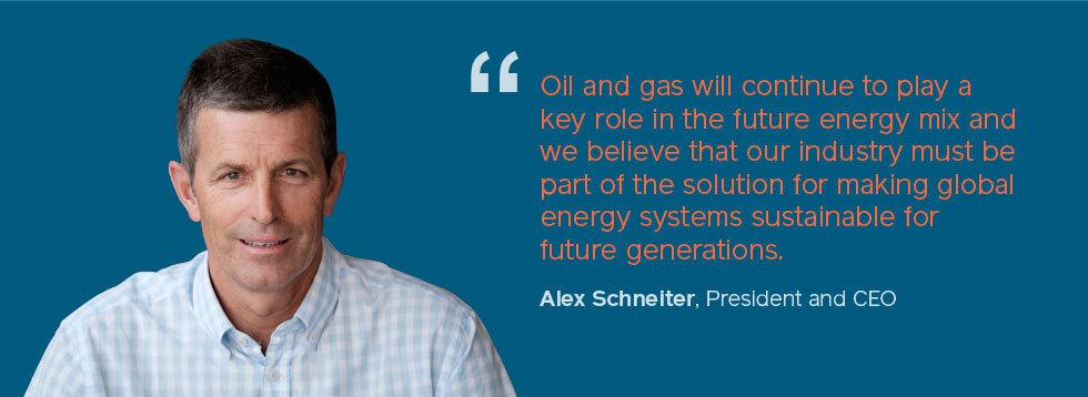 Alex Schneiter - Sustainability Quote