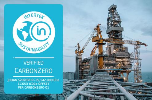 Johan Sverdrup CarbonZero Certification
